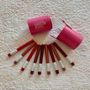 Set of 9 Maybelline SuperStay Ink Crayons
